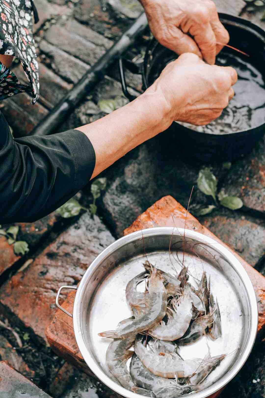 Comment cuire des crevettes à la vapeur