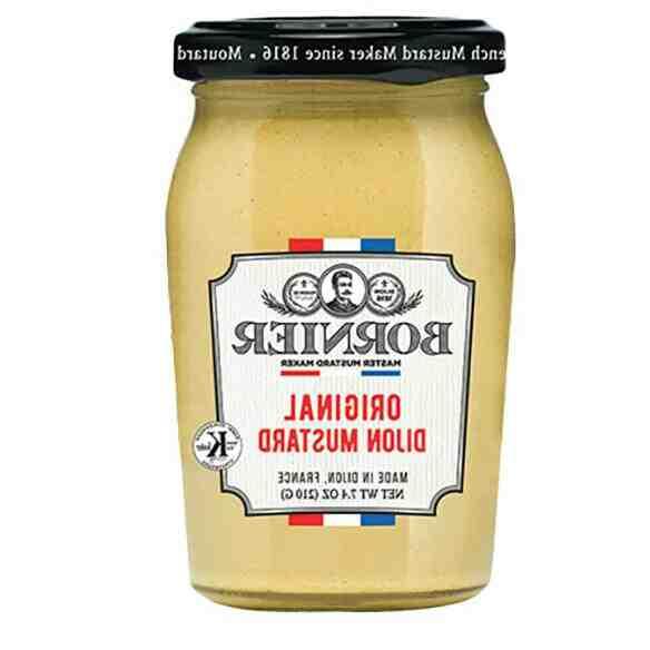 Comment faire de la moutarde de Dijon