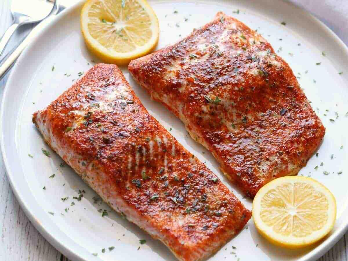 Comment faire griller du saumon au four