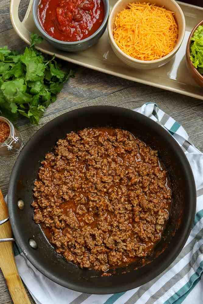 Comment préparer un assaisonnement pour la viande des tacos